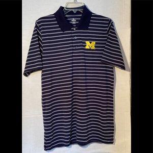 University of Michigan Men's Medium Polo Shirt